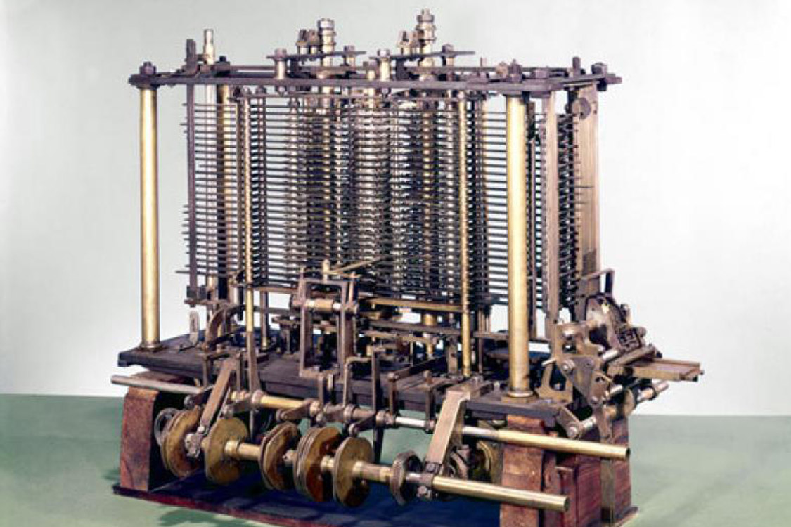 Charles Babbage's Analytical Engine, from 1837