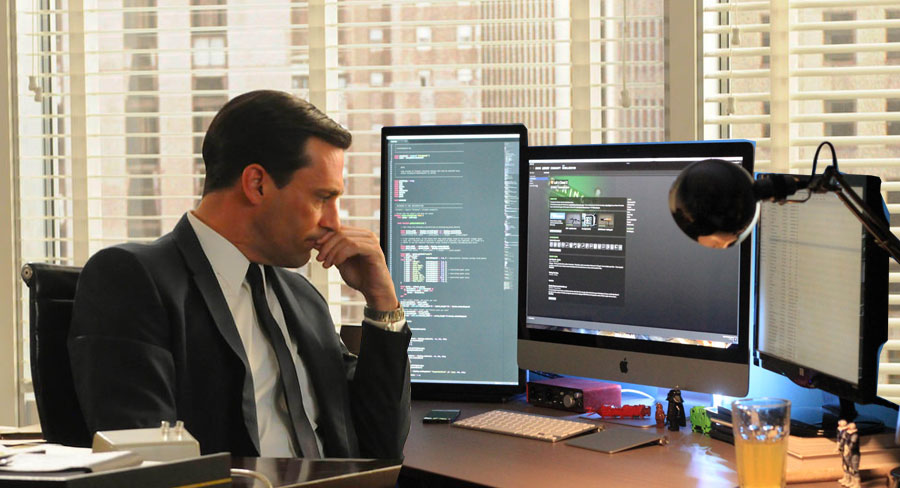 Don Draper became a significant asset to the UX team